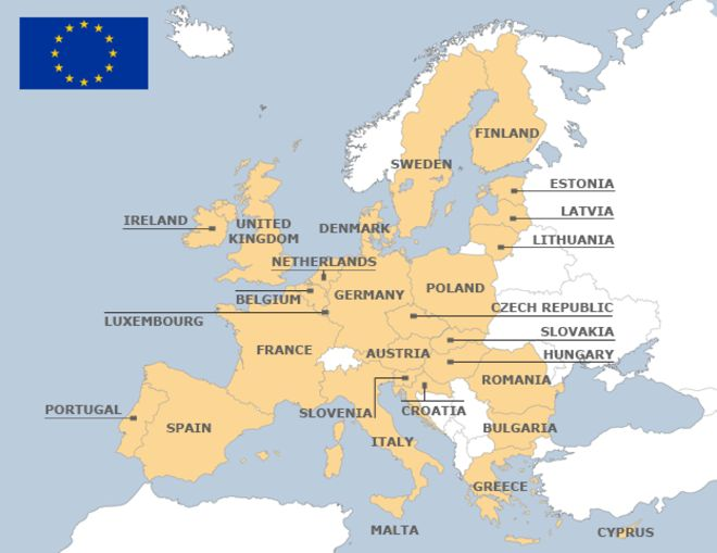 Countries in the EU that have free trade with Singapore through EUSFTA